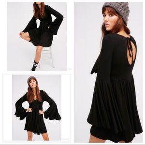 Fp Beach Camilla  Babydoll Mini Dress